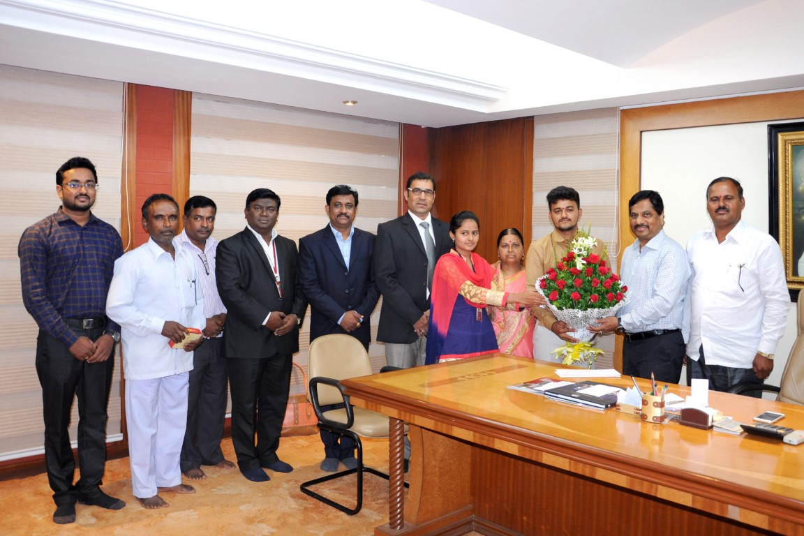 D Y Patil | Felicitation of Students Selected for Israel