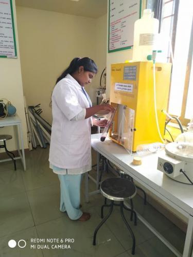 Determination of Available Nitrogen from soil