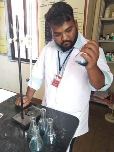 Determination of  calcium from water